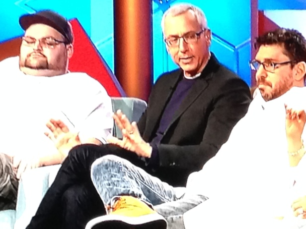 dr. drew in the middle