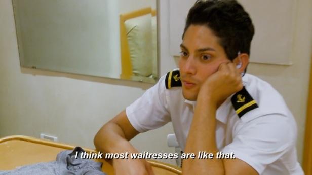 most waitresses
